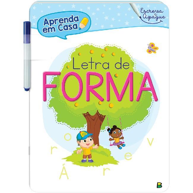 Kit Aprenda em Casa - Escreva e Apague | 05 Livros