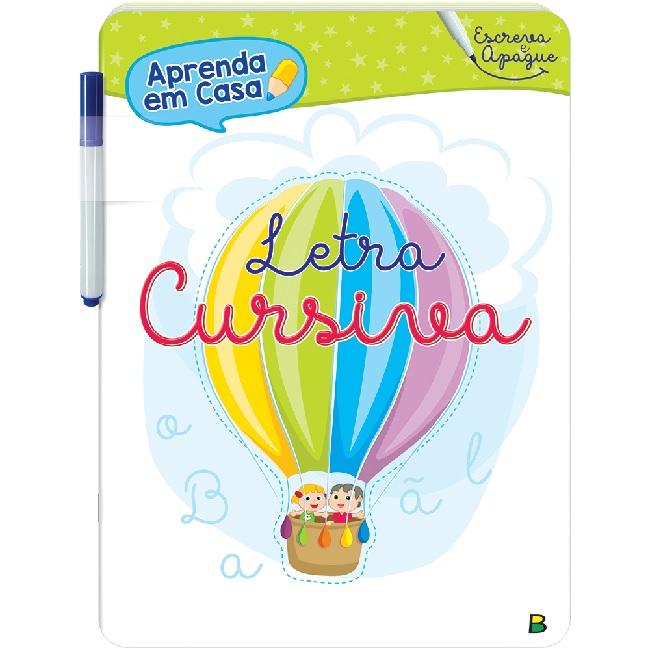 Kit Aprenda em Casa - Escreva e Apague   05 Livros