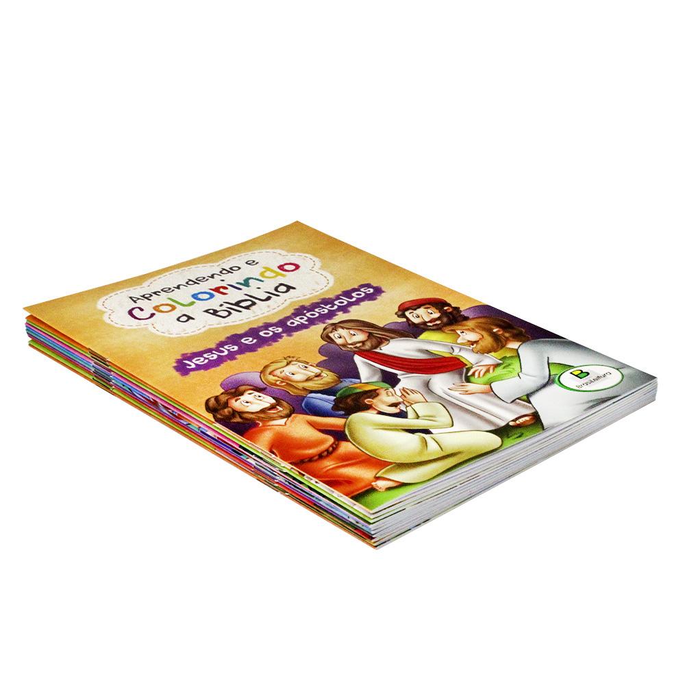 Kit - Aprendendo e Colorindo a Bíblia | 10 Livros