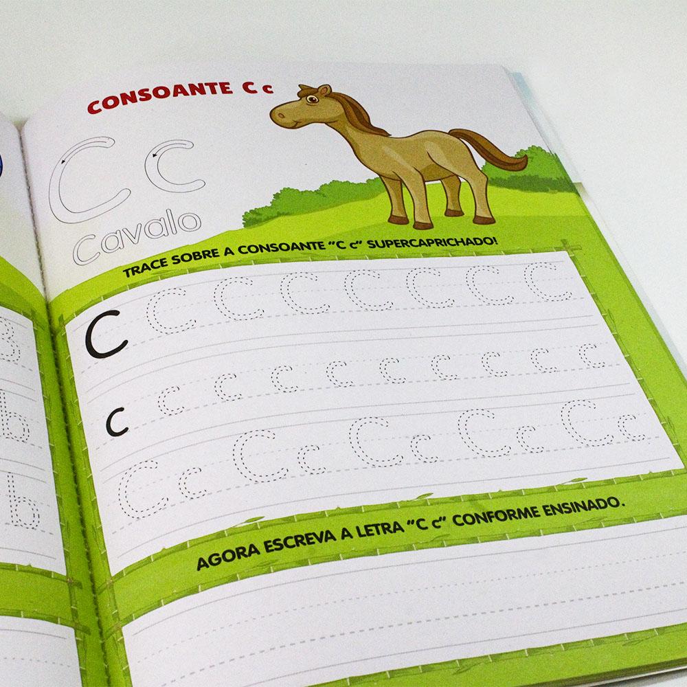 Kit Aprender Caligrafia Letra Cursiva   Letra Forma