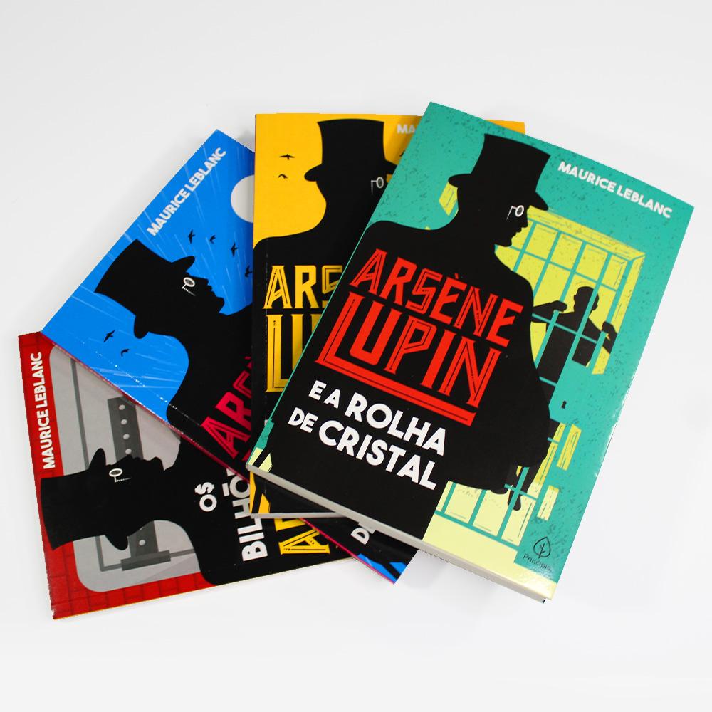 Kit Arsène Lupin | 04 Livros | Maurice LeBlanc | Ciranda
