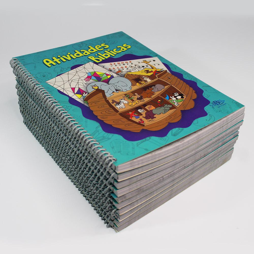 Kit Atividades Bíblicas | 10 Livros | Todolivro