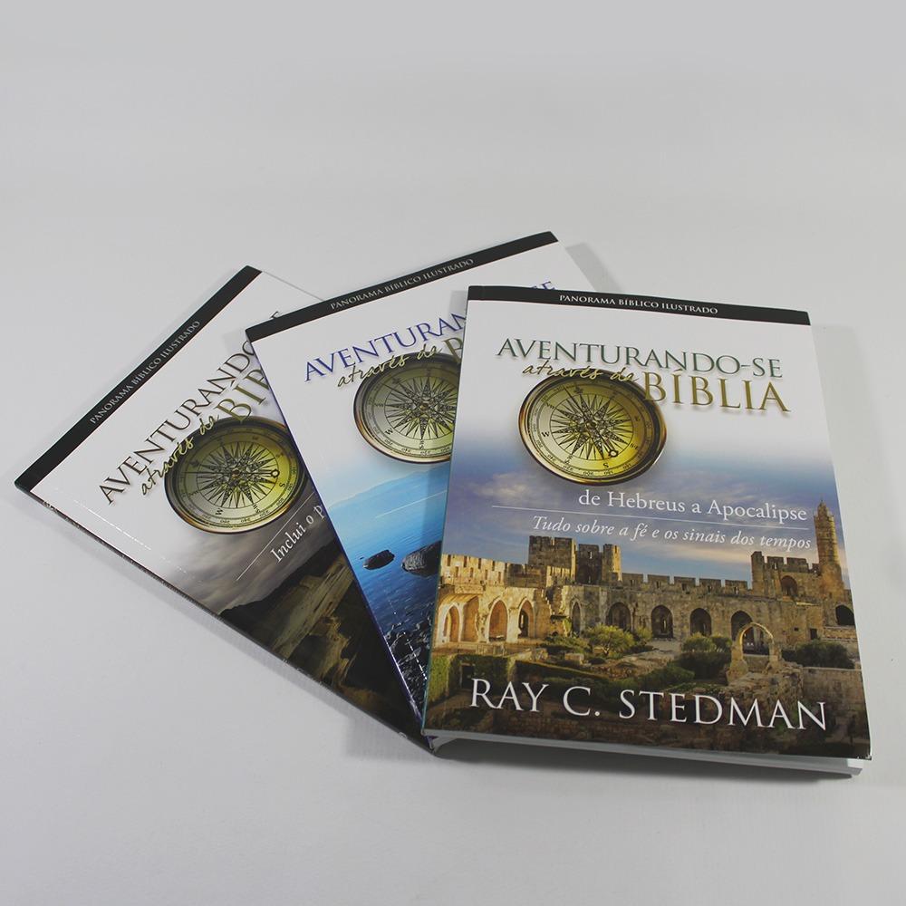 Kit Aventurando-se Através da Bíblia | 3 Livros