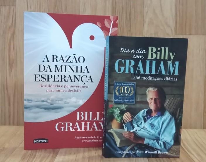 Kit Billy Graham - Razão da Minha Esperança | Dia a Dia Billy Graham