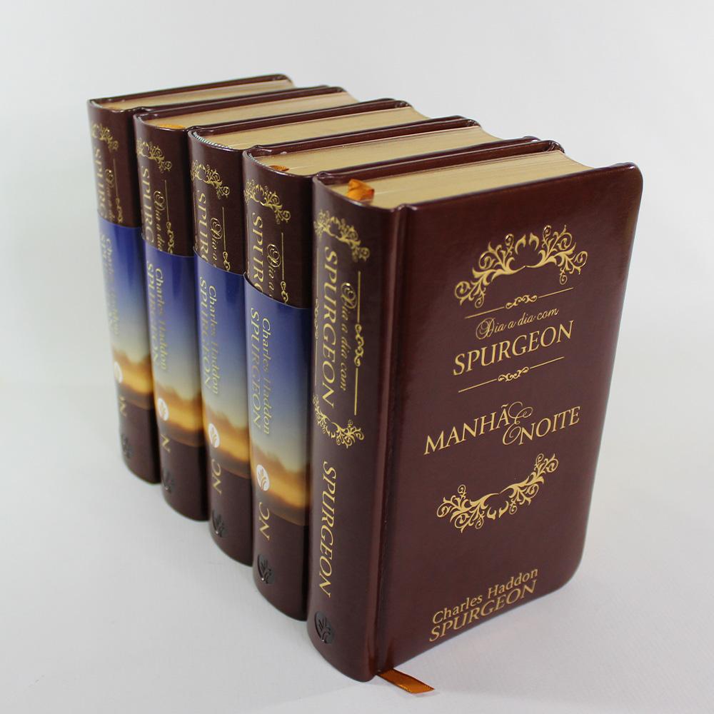 Kit Dia a Dia Com Spurgeon | Edição Luxo | 5 unidades