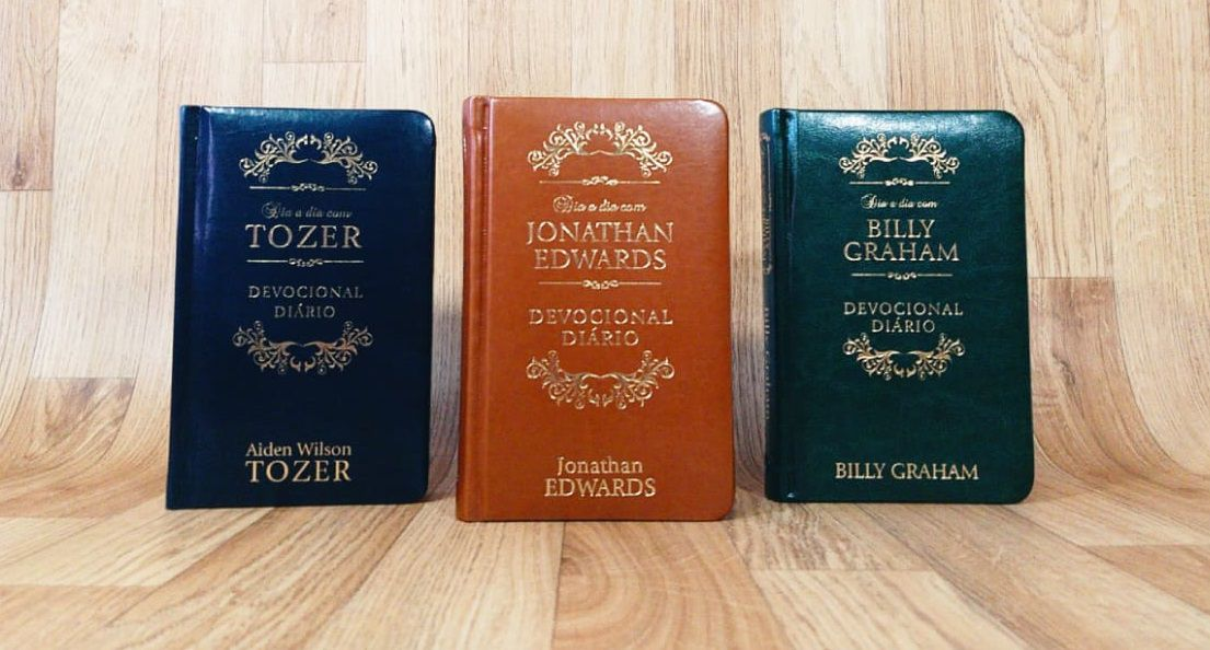 Kit Dia a Dia Jonathan Edwards | Billy Graham | A. W. Tozer