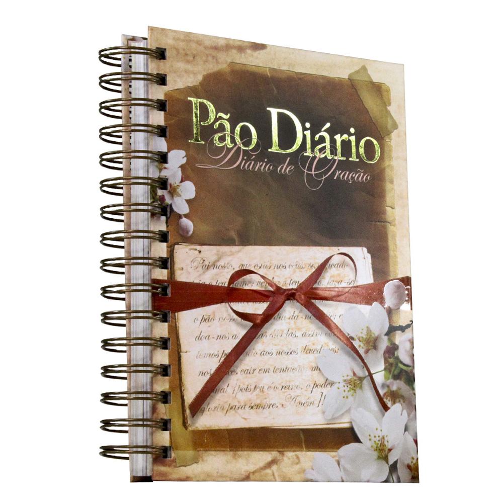 Kit Diário de Oração - Pai Nosso + Pão Diário Flores Vol. 19 [GRÁTIS]