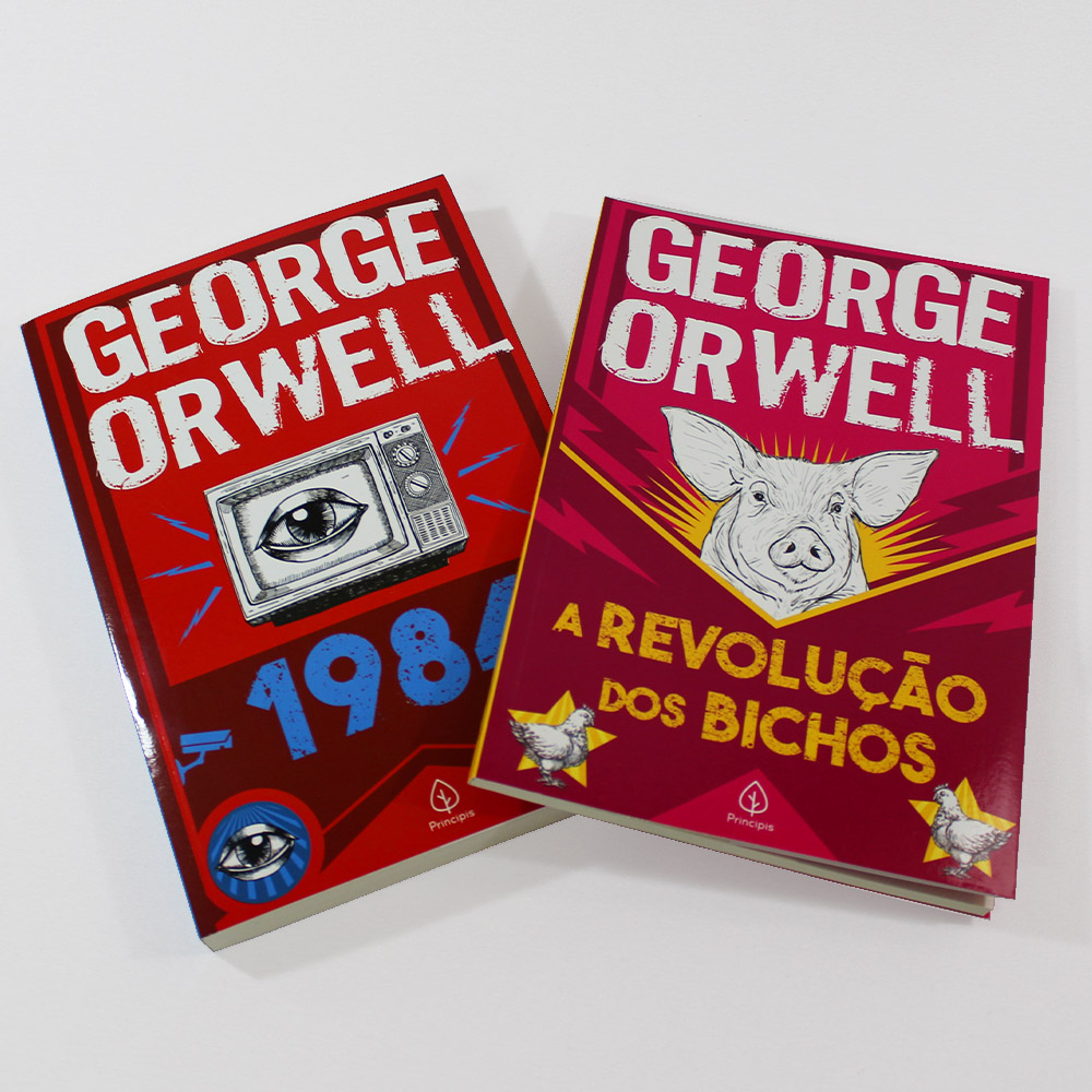 Kit George Orwell | 02 Livros | Ciranda Cultural