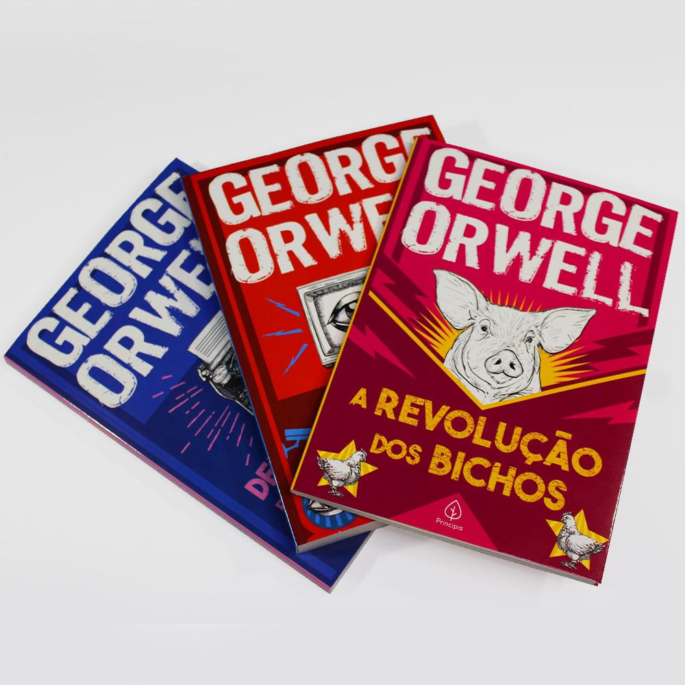 Kit George Orwell   03 Livros   Ciranda Cultural