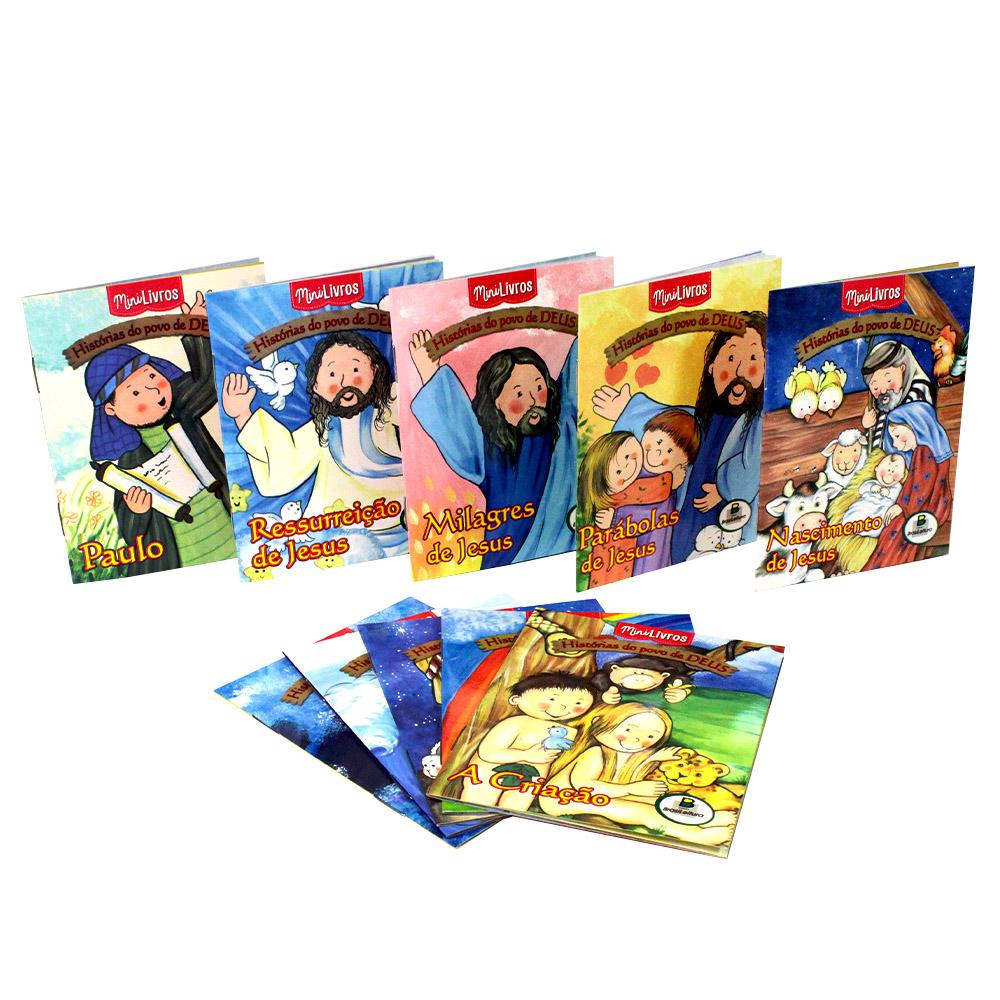 Kit Histórias do Povo de Deus | 10 Mini Livros