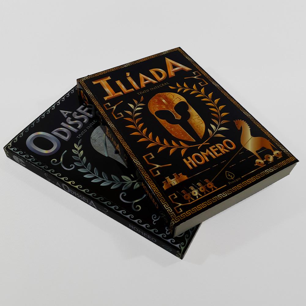 Kit Homero | 02 Livros | Ciranda
