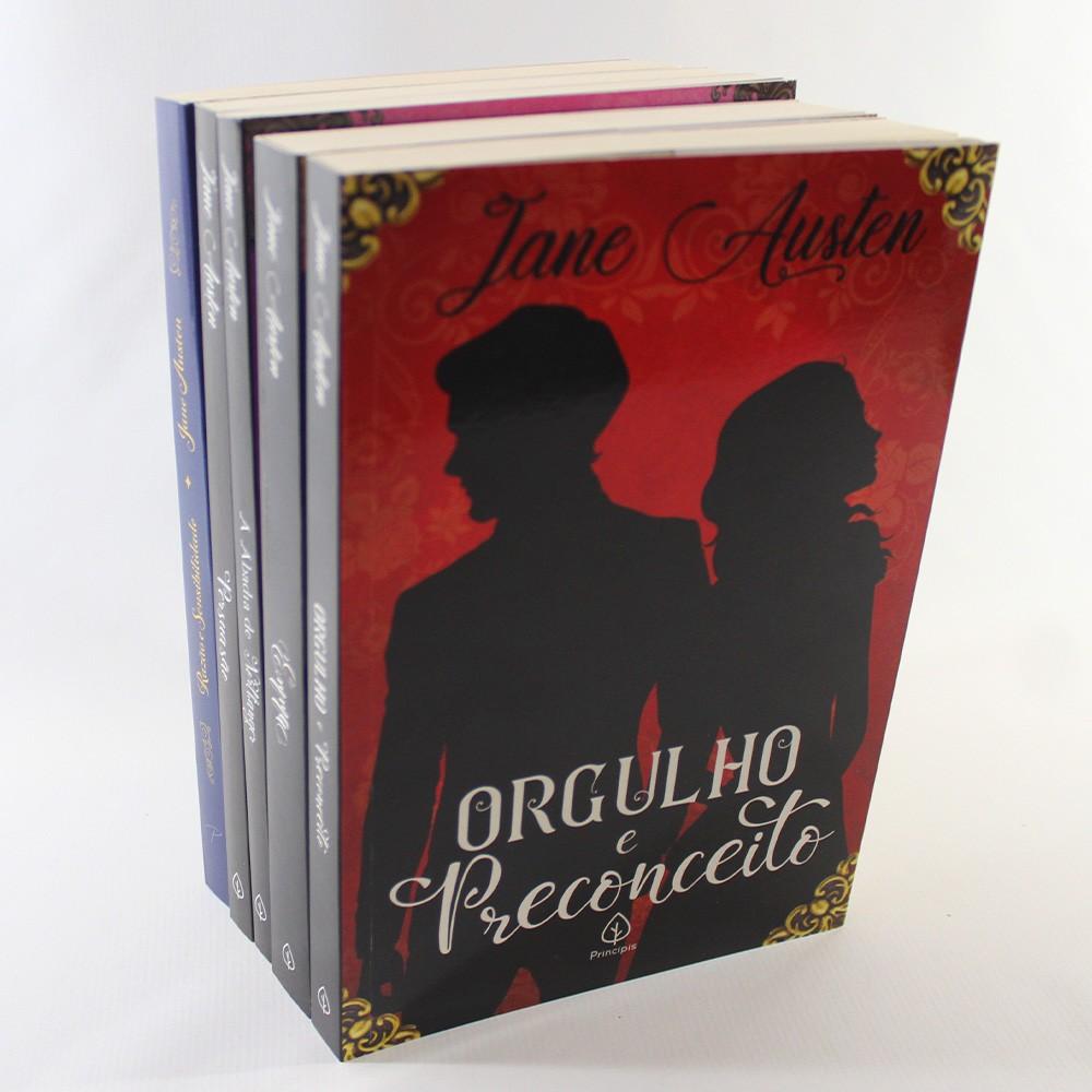 Kit Jane Austen   5 Livros