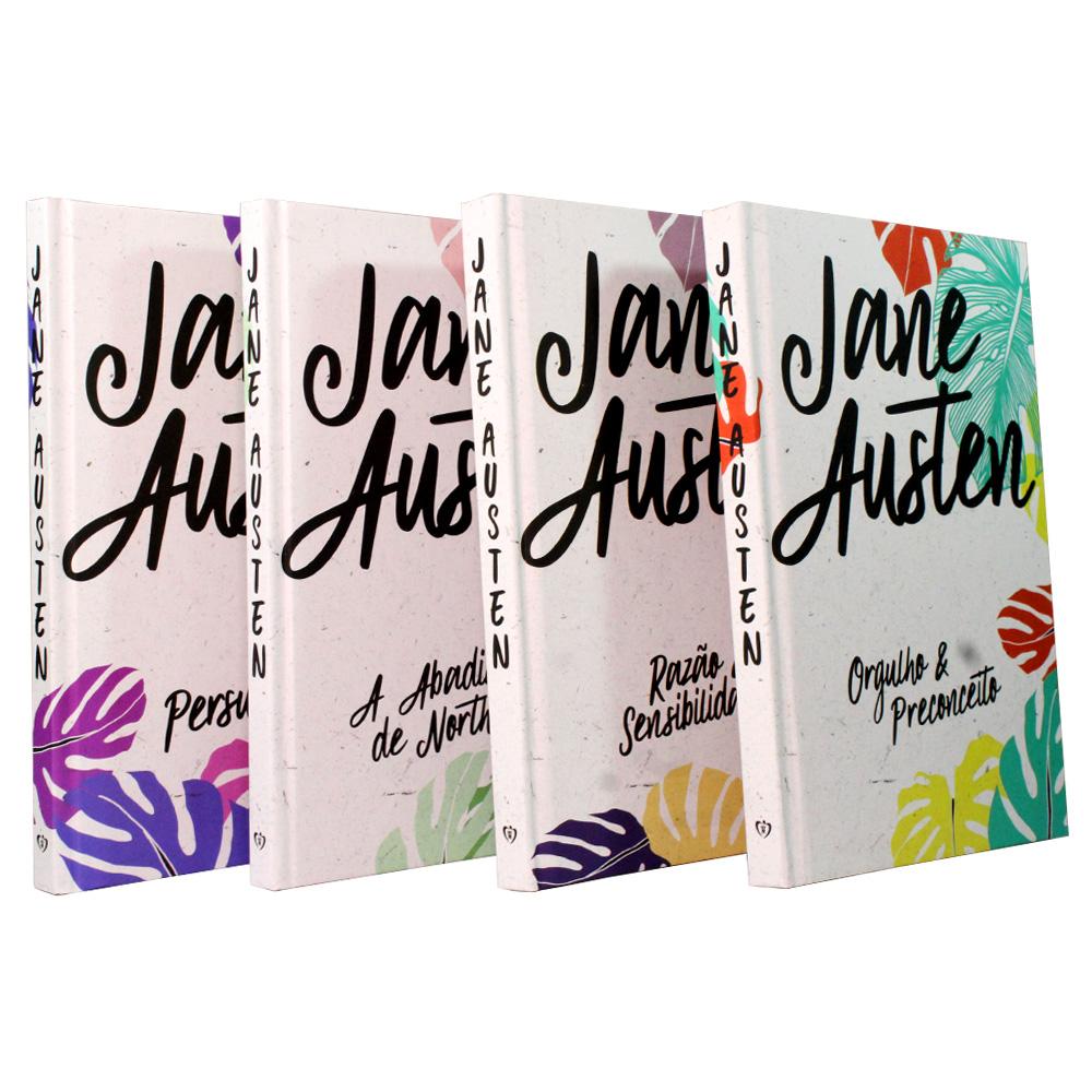 Kit Jane Austen - Capa Dura - 04 Livros | Edição Especial