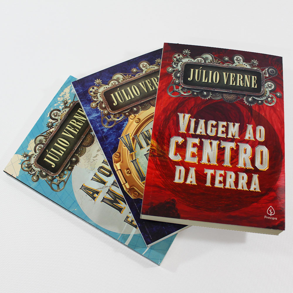 Kit Júlio Verne | 03 Livros