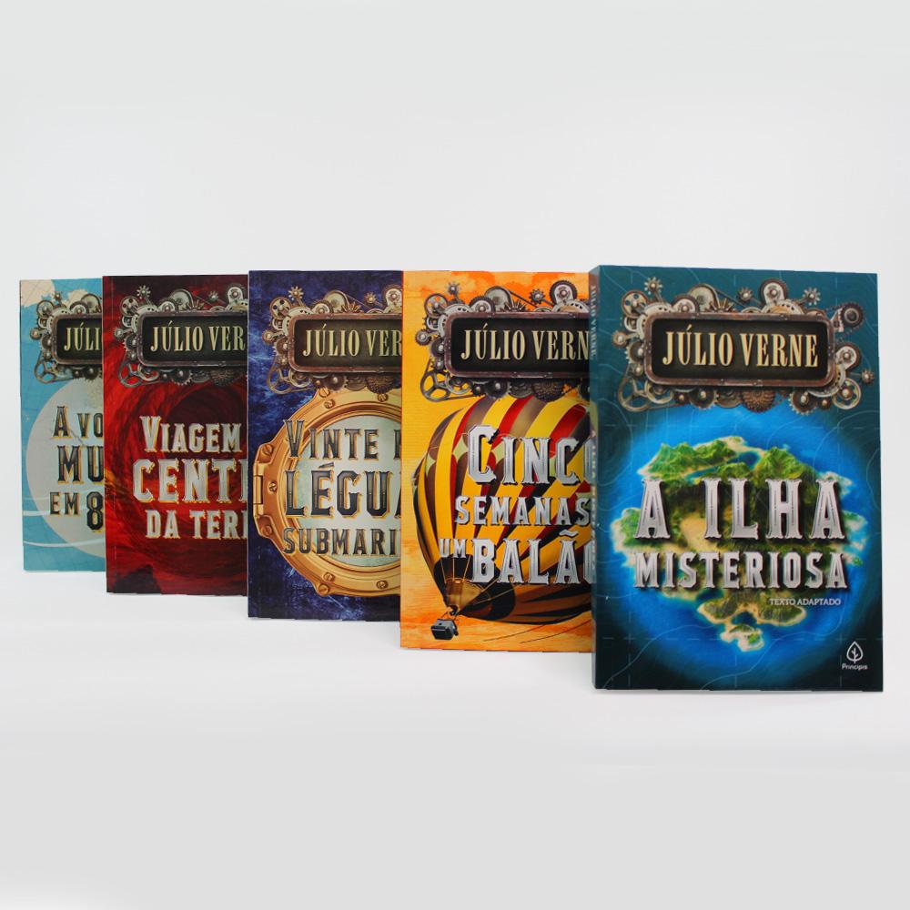 Kit Julio Verne | 05 Livros | Ciranda
