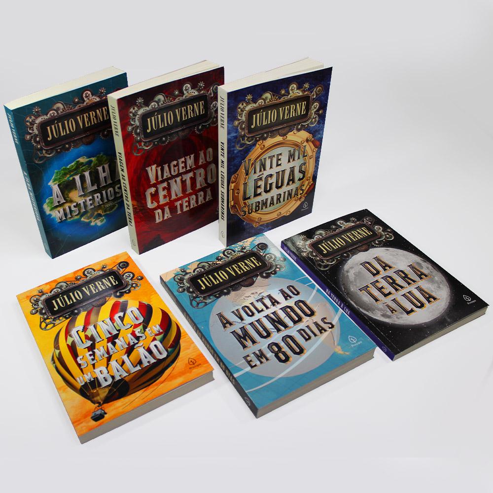 Kit Julio Verne | 06 Livros | Ciranda