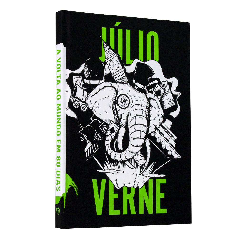 Kit Júlio Verne   Capa Dura   3 Livros