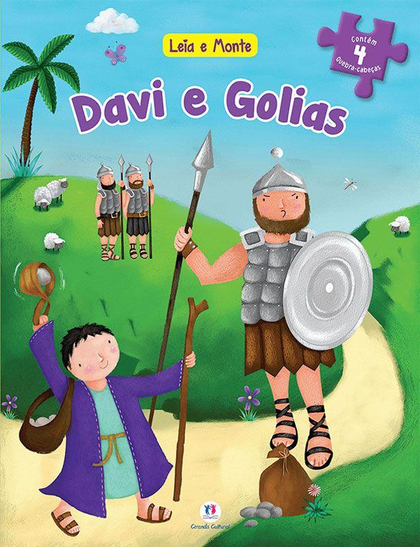 Kit Leia e Monte   Davi e Golias   A Arca de Noé   A Criação   O Nascimento de Jesus