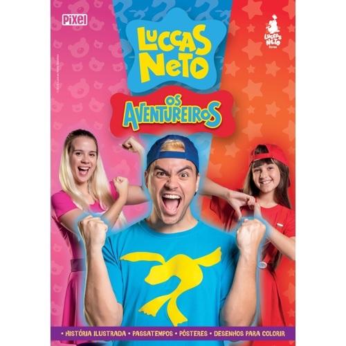 Kit Livrão Luccas Neto