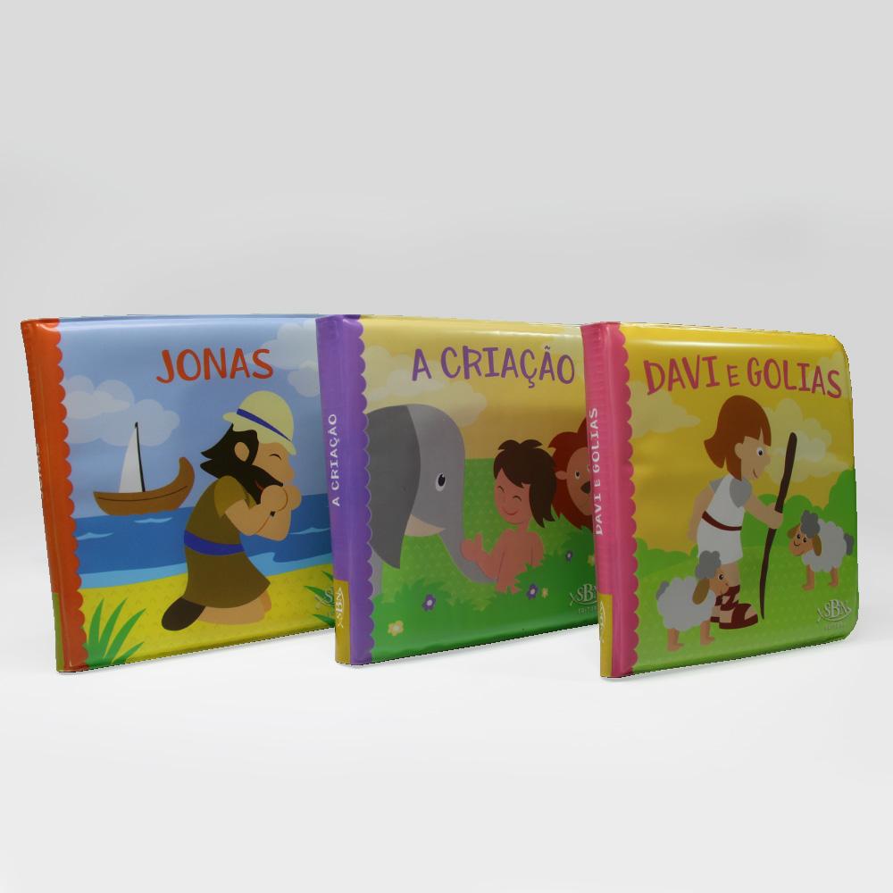 Kit Livro De Banho | Bíblicos | 05 Livros