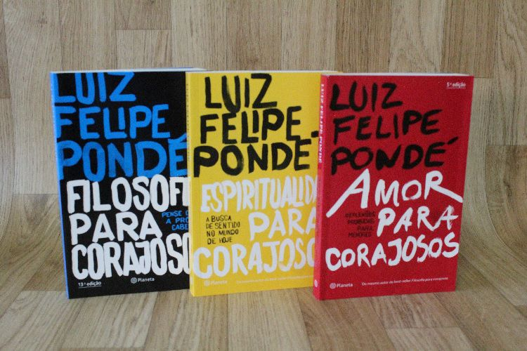 Kit Luiz Felipe Pondé Filosofia | Amor | Espiritualidade para Corajosos