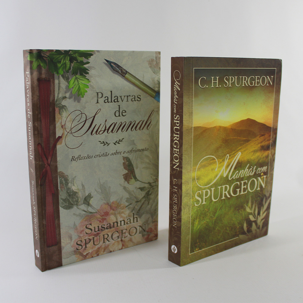 Kit Manhãs Com Spurgeon | Palavras De Susannah Spurgeon