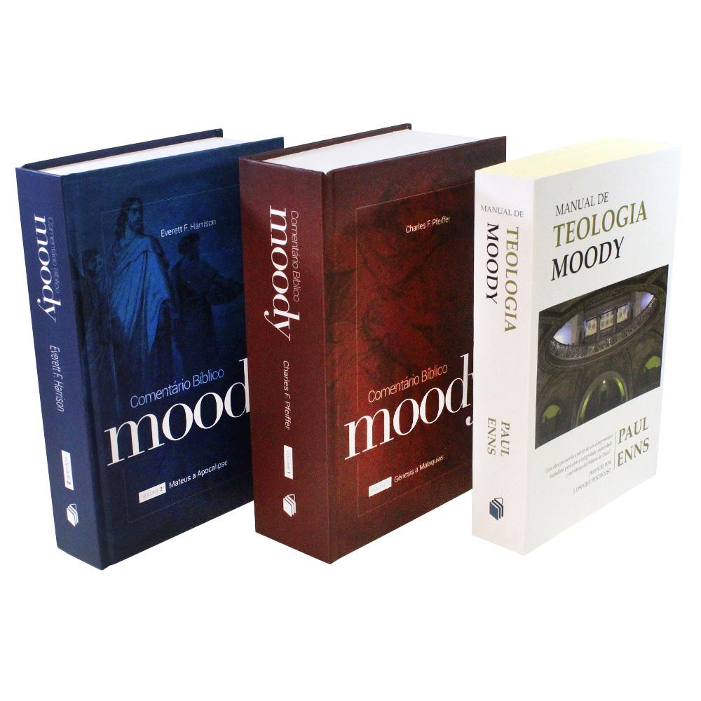 Kit Moody | Comentário Bíblico + Manual de Teologia