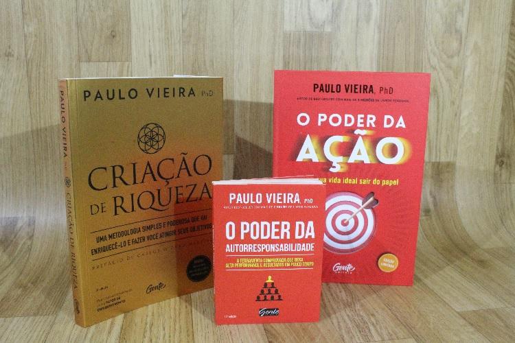 Kit Paulo Vieira | 03 Livros