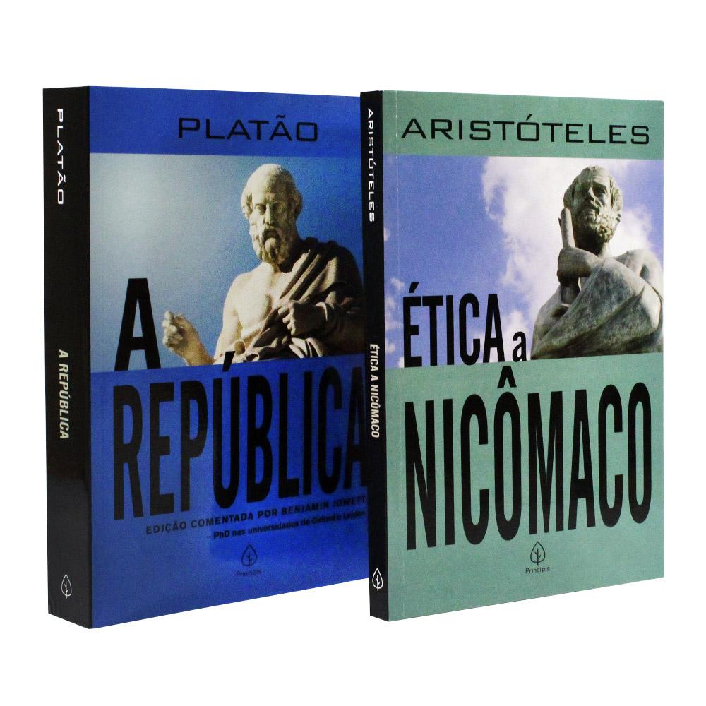 Kit Pensadores | Platão e Aristóteles | Ética a Nicômaco e A República