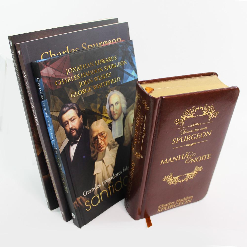 Kit Spurgeon | Santidade | 04 Livros