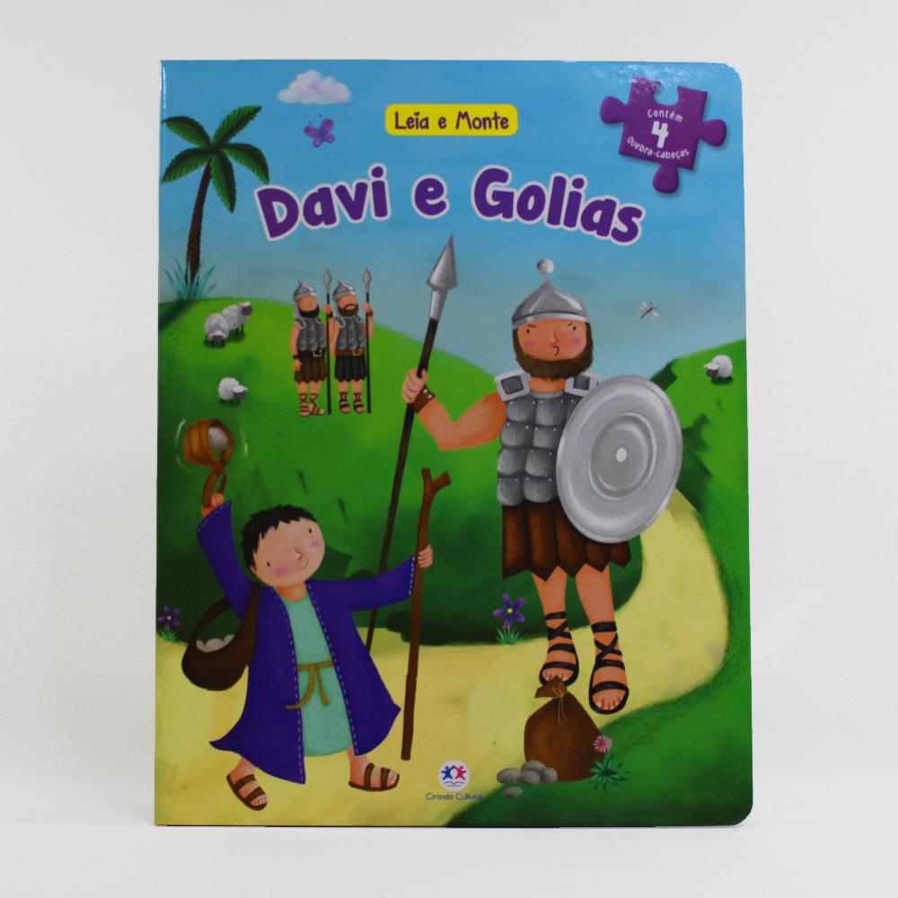 Leia e Monte | Davi e Golias | Quebra-Cabeça
