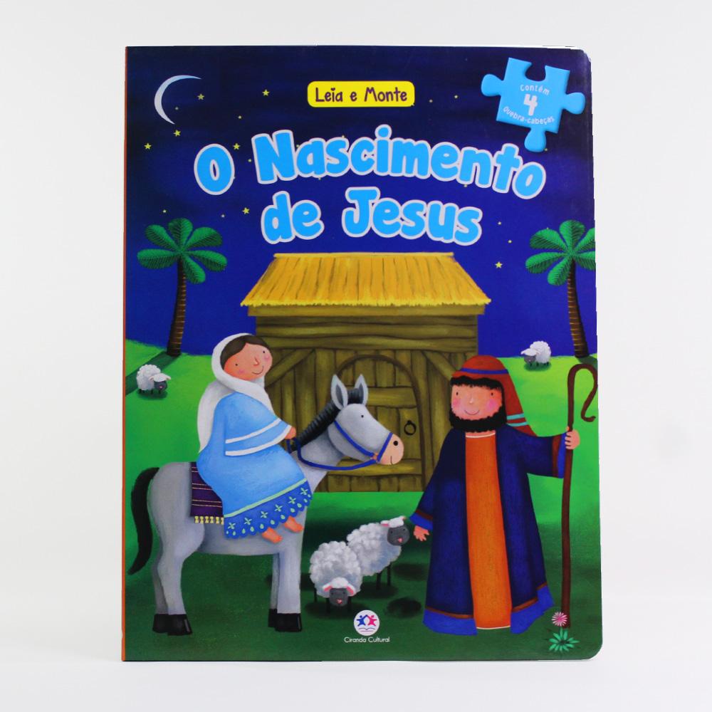 Leia e Monte | O Nascimento De Jesus | Quebra-cabeça
