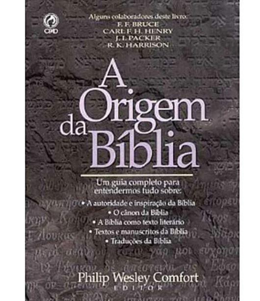 Livro A Origem da Bíblia