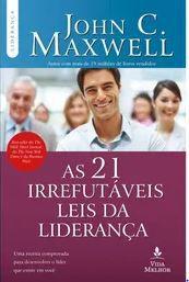 Livro As 21 Irrefutáveis Leis da Liderança