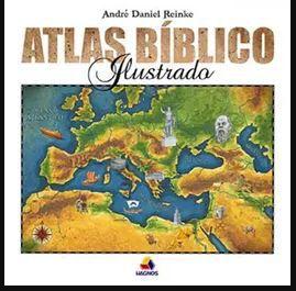 Livro Atlas Bíblico Ilustrado