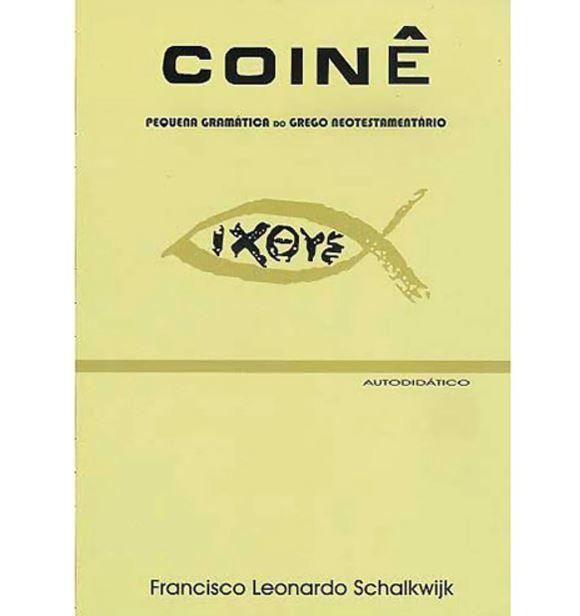 Livro Coinê Pequena Gramática do Grego Neotestamentário