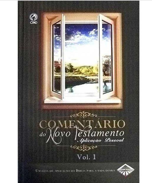 Livro Comentário do Novo Testamento Aplicação Pessoal 2 volumes