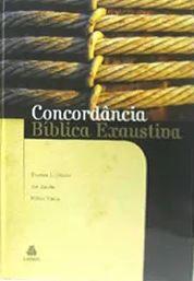 Livro Concordância Bíblica Exaustiva