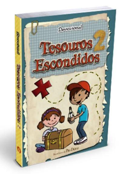 Livro Devocional Tesouros Escondidos 2