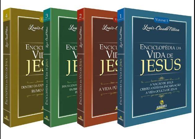 Livro Enciclopédia da vida de Jesus