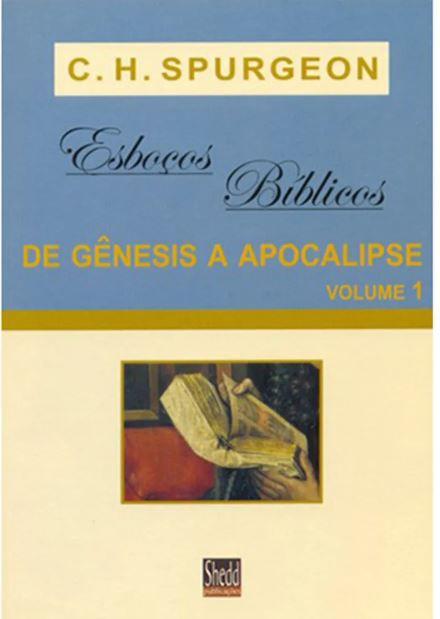 Livro Esboços Bíblicos De Gênesis a Apocalipse Volume 1