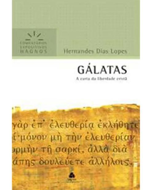 Livro Gálatas Comentário Expositivo