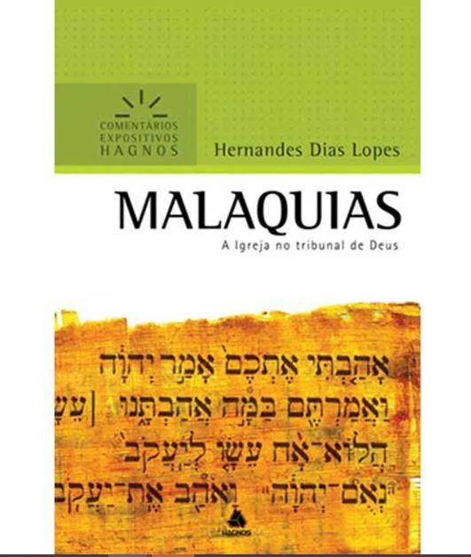 Livro Malaquias Comentário Expositivo