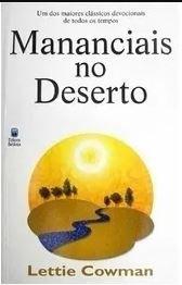 Livro Mananciais no Deserto Devocional de Bolso