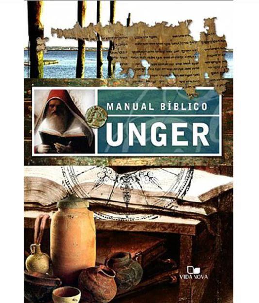 Livro Manual Bíblico Unger