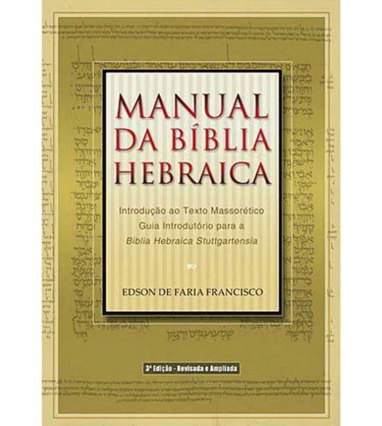 Livro Manual da Bíblia Hebraica