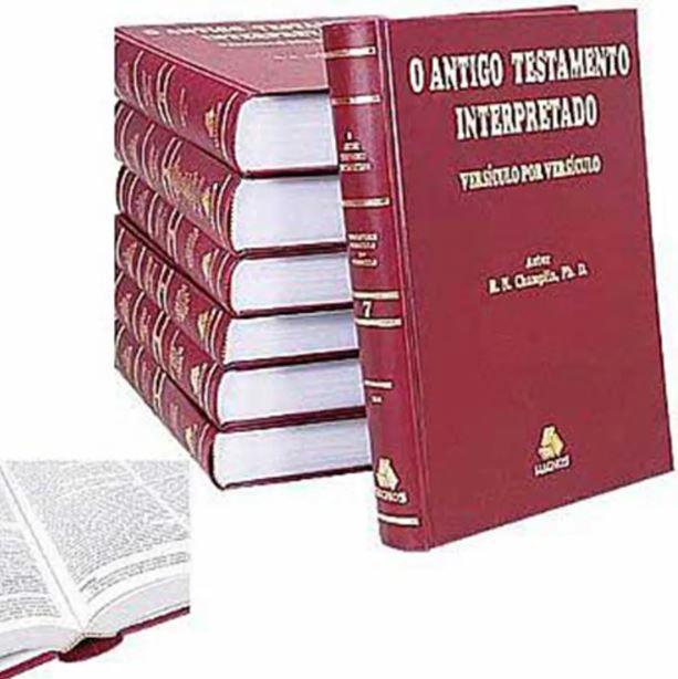 Livro O Antigo Testamento Interpretado versículo por versículo - Russel Champlin
