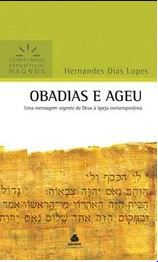 Livro Obadias e Ageu Comentário Expositivo