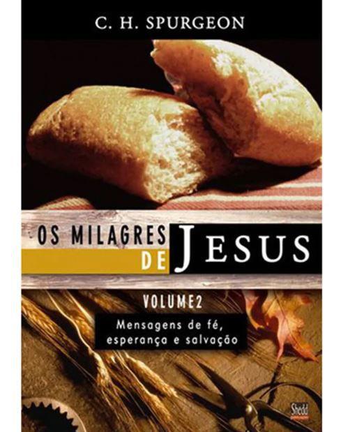 Livro Os Milagres de Jesus Volume 2