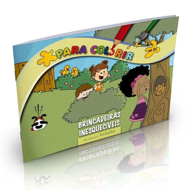 Livro Para Colorir Brincadeiras Inesquecíveis